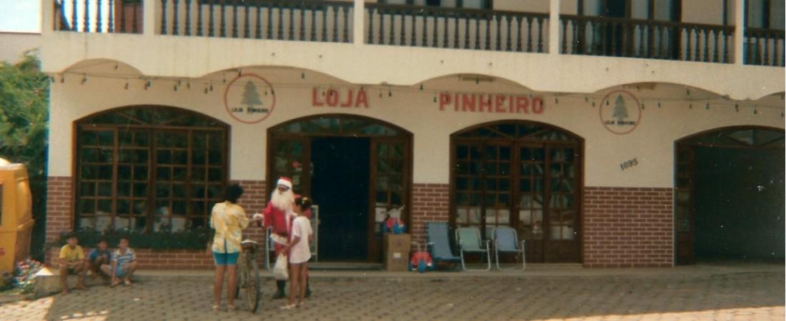 Lojas Pinheiro fachada antiga